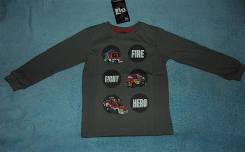 Chlapecké triko Gt - Fire fight hero