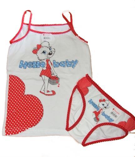 Dívčí spodní komplet Donella - spodní kalhotky a tílko