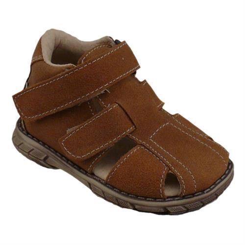 dětské sandálky Pegres - hnědé