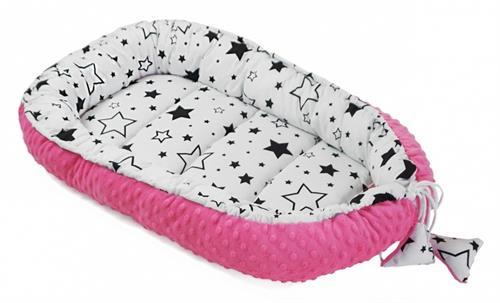 Hnízdečko pro miminko oboustranné - hvězdičky