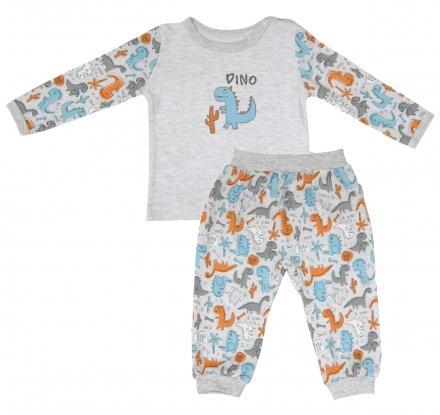 Dětské bavlněné pyžamo mamatti - DINO