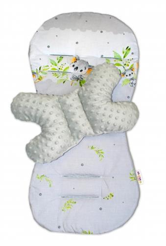 Sada do kočárku Baby Nellys Minky Koala