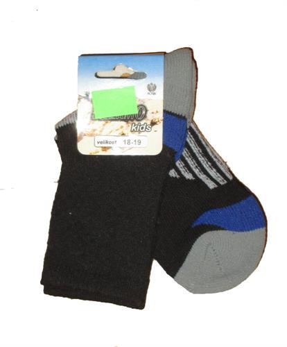 Dětské termo ponožky Novia vel. 18-19 - poslední kus