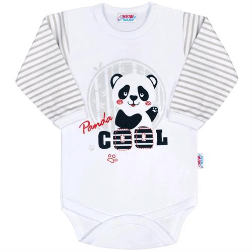 Kojenecké body panda cool