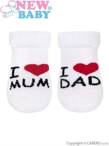 Kojenecké ponožky - Mum and Dad
