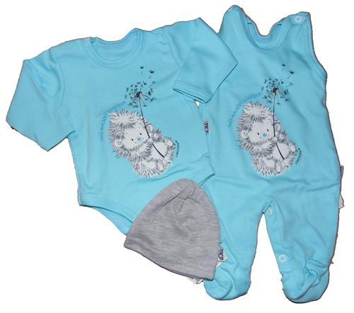 3 - dílná kojenecká souprava Vejnar - tyrkys