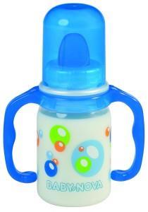 kojenecká láhev Baby Nova 125 ml s držákem