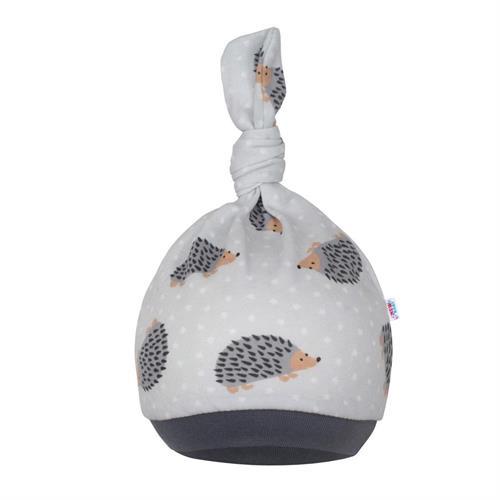 kojenecké čepice New Baby - ježek
