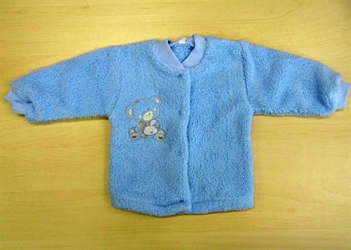 Kojenecký zateplený kabátek - modrý