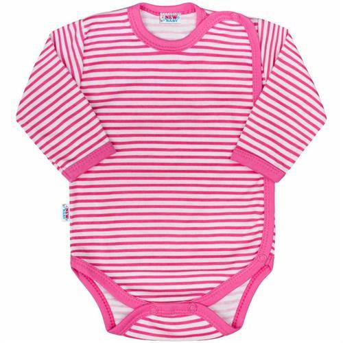 kojenecké body celopropínací - růžové