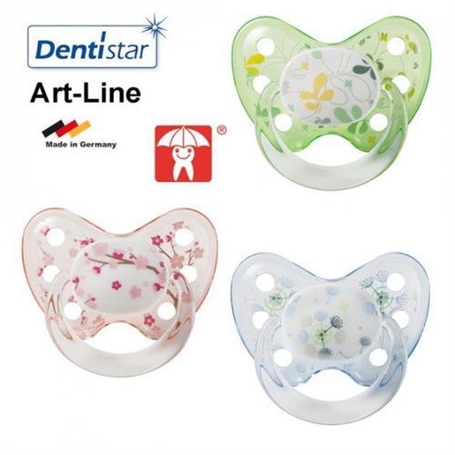 Silikonový dudlík Dentistar vel. 1