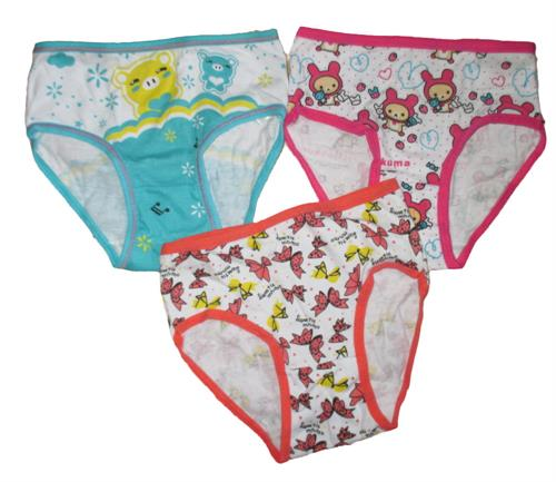 Dívčí spodní kalhotky 3 ks