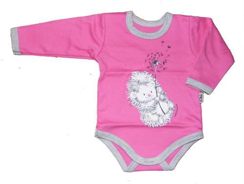 kojenecké body dáreček - růžové