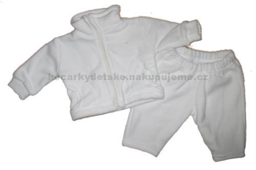 2 - dílná kojenecká fleesová souprava