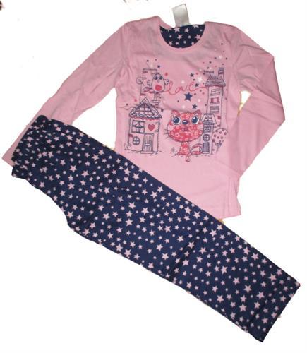dívčí pyžamo Vienetta - kočička