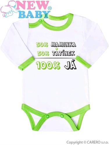 Kojenecké body - 50% maminka + 50% tatínek = 100% JÁ