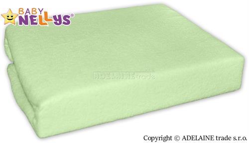 Nepromokavé prostěradlo Baby Nellys ® - zelené