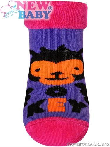 Dívčí froté ponožky vel. 12-14