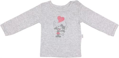 Dívčí triko s dlouhým rukávem - little mouse