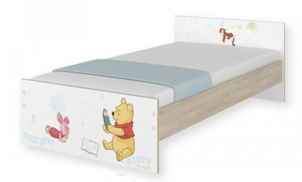 dětská postel 180 x 90 cm - medvídek Pú