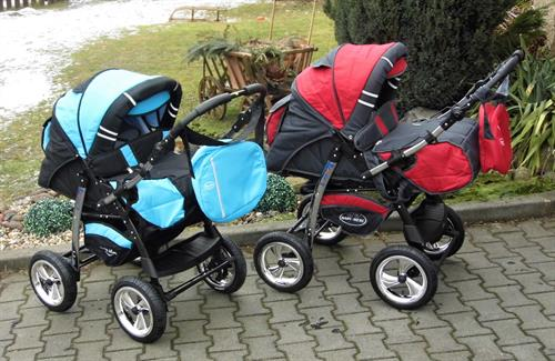 Kombinovaný kočárek Baby Merc Agat