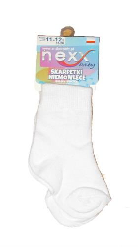 Kojenecké ponožky - bílé