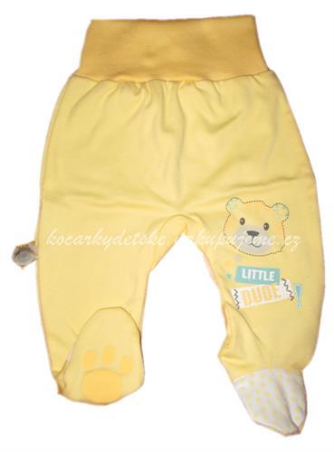 kojenecké polodupačky tygr - žluté