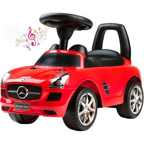 odrážedlo Mercedes-Benz Bayo červené