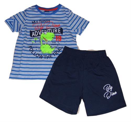 Chlapecká souprava - dino modré