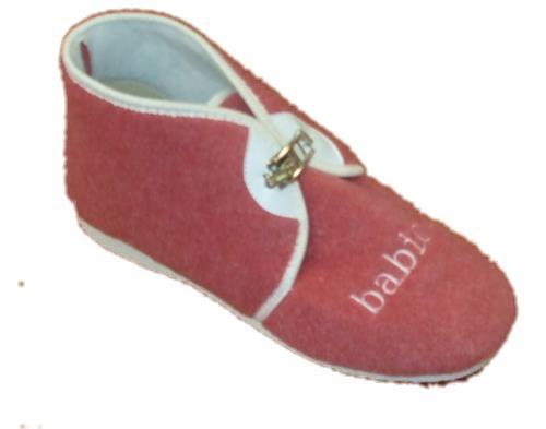 """Domácí obuv - """"důchodky"""" - lososové"""