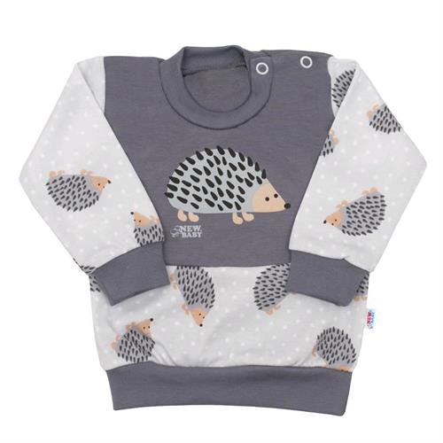 Kojenecká mikinka New Baby - ježek