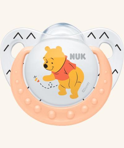 Silikonový dudlík Nuk medvídek Pú