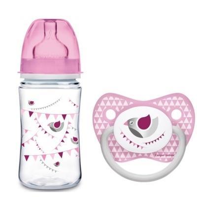Kojenecká láhev Canpol Babies + dudlík