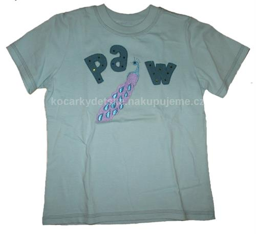 Dívčí triko DiD - páv