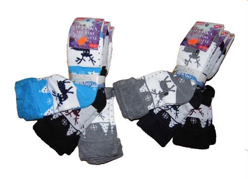 Dámské thermo ponožky - 3 ks