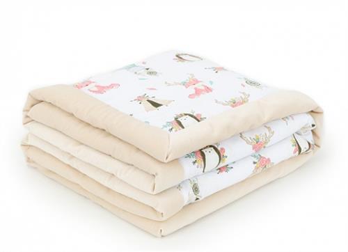 Oboustranná deka velvet - zvířátka