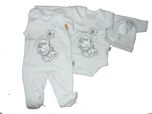 3 - dílná kojenecká souprava Vejnar - bílá