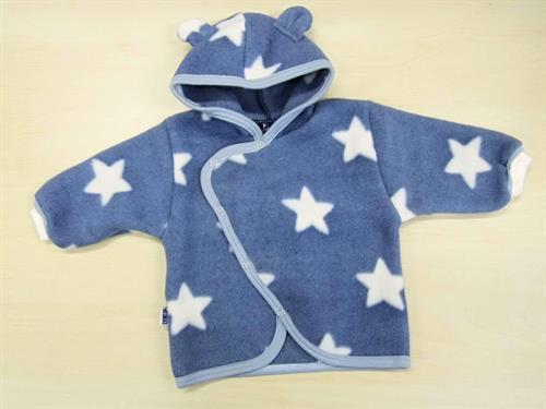 kojenecký zateplený kabátek - hvězdička