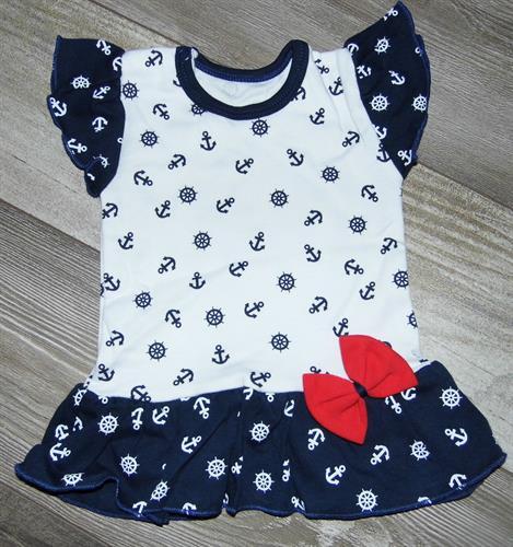 Dívčí kojenecké triko - kotvičky
