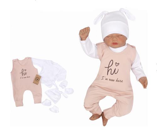 5 - dílná kojenecké souprava - Im here