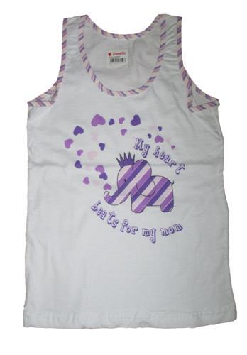 Dětské spodní tílko Donella - fialové
