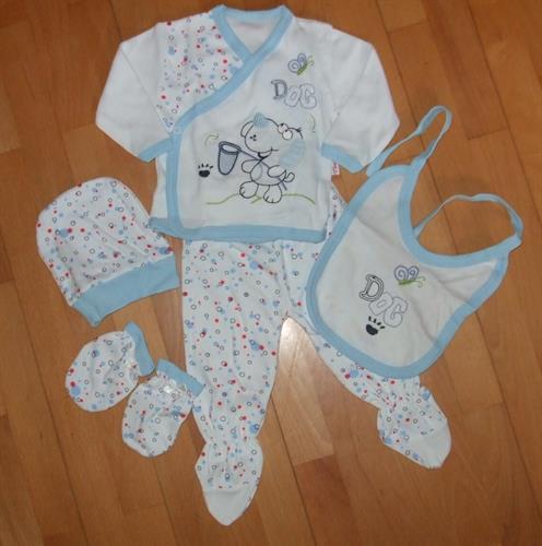 5 - dílná kojenecká souprava - pejsek