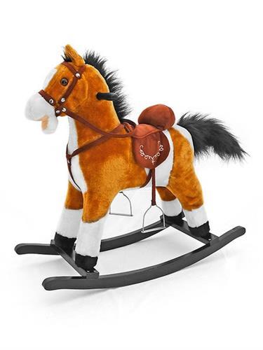 houpací kůň Milly Mally Mustang světle hnědý