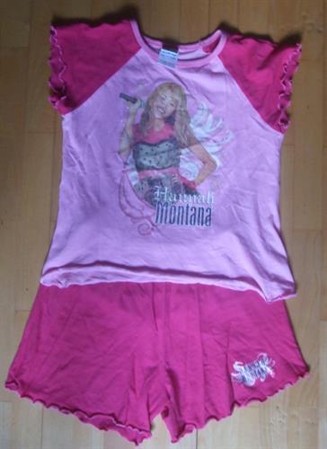 Dívčí pyžamo Hannah Montana - POUŽITÉ