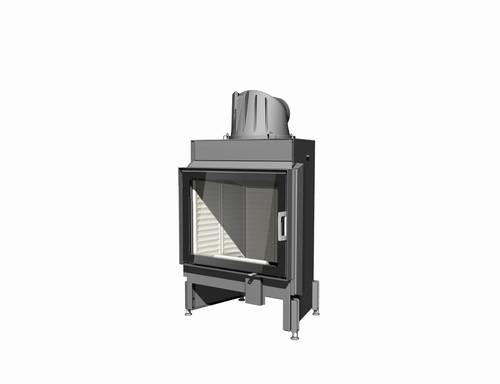 Austroflamm 65/51K-rovné sklo