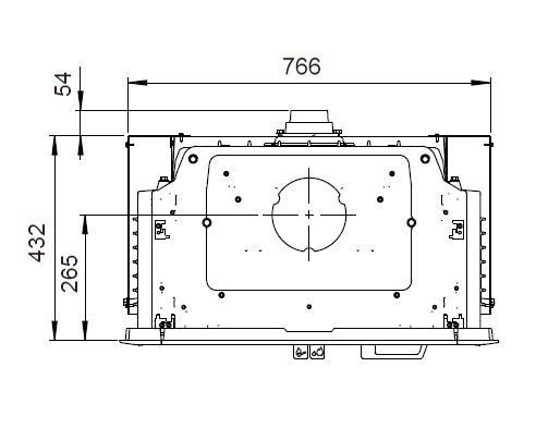 Krbová vložka Jotul I 620 F - čelní rovné sklo