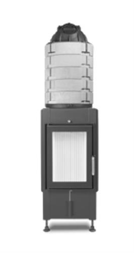 Krbová vložka HAKA 37/50 GN - hluboká, akumulační nástavba
