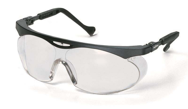 uvex 9195 - skyper, PC čirý/UV 2 C-1,2 optidur NCH, rám černý