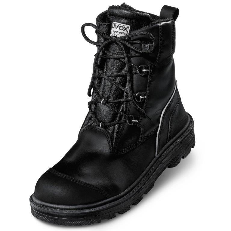 uvex - S3, zimní kotníčková obuv, podešev ORIGIN,CI,HI,HRO SRC,vel. 38-48