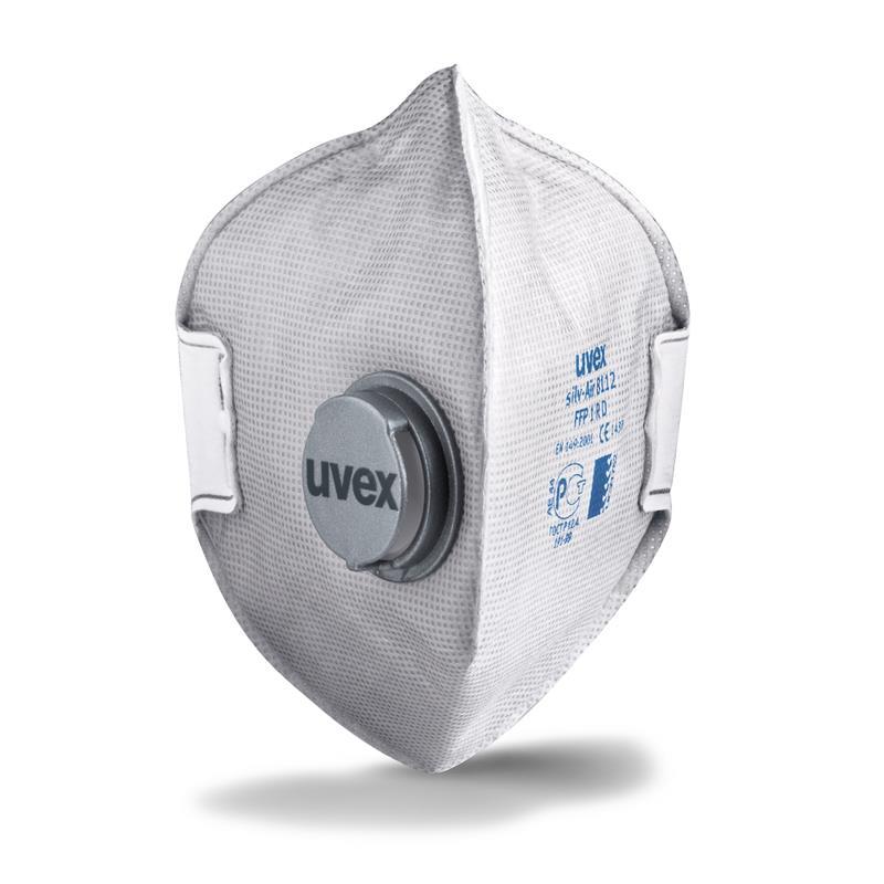 uvex - silv-Air p 8112 -FFP1- skládací s ventilem